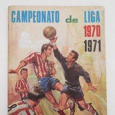 Álbum de fútbol completo: ALBUM 1970 1971 FHER DISGRA. CAMPEONATO DE LIGA 70 71 COMPLETO. VER FOTOS. Lote 128269219