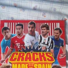 Álbum de fútbol completo: CRACKS MADE IN SPAIN JUGON PANINI COLECCIÓN COMPLETA. Lote 128646531