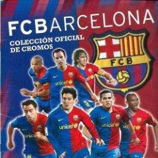 Álbum de fútbol completo: F.C. BARCELONA, COLECCIÓN OFICIAL DE CROMOS 2008-2009, PANINI (COMPLETO). Lote 128796859