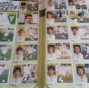 Álbum de fútbol completo: ÁLBUM COMPLETO EDICIONES ESTE.TODO LO EDITADO 91/92.1991/1992 EN VENTANILLA. Lote 128921159