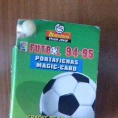 Álbum de fútbol completo: COLECCION COMPLETA FICHAS LIGA 1994/95 MATUTANO. Lote 129185707