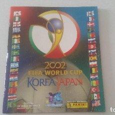Álbum de fútbol completo: ÁLBUM VACÍO PLANCHA MUNDIAL KOREA Y JAPÓN 02 2002 PANINI. Lote 130038011