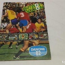 Álbum de fútbol completo: FUTBOL EN ACCIÓN_ALBUM DANONE_AÑO 1981 EN MUY BUEN ESTADO COMPLETO. Lote 130763816