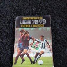 Álbum de fútbol completo: ALBUM COMPLETO LIGA ESTE 78 79 1978 1979 CON TODO LO EDITADO Y COLOCA DAVID SIN PEGAR. Lote 130852961