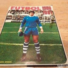 Álbum de fútbol completo: ÁLBUM FÚTBOL 1980 1981 FHER. Lote 131082824