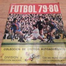 Álbum de fútbol completo: FÚTBOL 79-80 CROMO CROM COMPLETO MÁS SOBRE REGALO ORIGINAL.. Lote 131083880