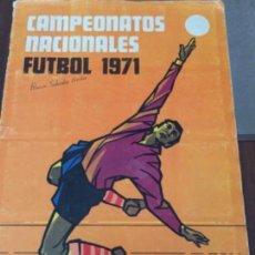 Álbum de fútbol completo: ÁLBUM DE FÚTBOL 1971 RUIZ ROMERO Y MÉJICO 1970. Lote 130114499