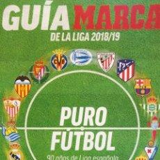 Álbum de fútbol completo: MARCA. - GUÍA DE LA LIGA 2018-2019 .. Lote 131117032