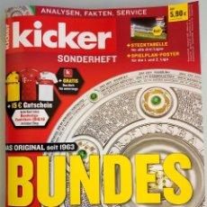 Álbum de fútbol completo: KICKER. - BUNDESLIGA SONDERHEFT 2018/19.. Lote 131117444