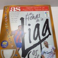 Álbum de fútbol completo: ALBUM COMPLETO LAS FICHAS DE LA LIGA 2005-06 DE AS. Lote 131297248