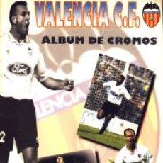 Album de football complet: CENTENARIO VALENCIA C. F. ÁLBUM COMPLETO VALENCIA C. F. 1995. Lote 131505338