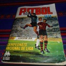 Álbum de fútbol completo: FÚTBOL 1973 1974 COMPLETO 3 DOBLES RUIZ ROMERO. BE. REGALO FÚTBOL 1968 1969 RUIZ ROMERO INCOMPLETO. Lote 74955575