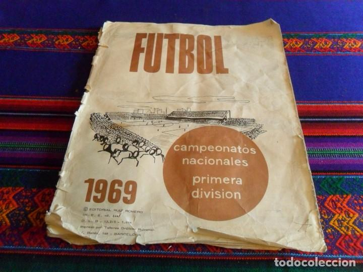 Álbum de fútbol completo: FÚTBOL 1973 1974 COMPLETO 3 DOBLES RUIZ ROMERO. BE. REGALO FÚTBOL 1968 1969 RUIZ ROMERO INCOMPLETO - Foto 2 - 74955575