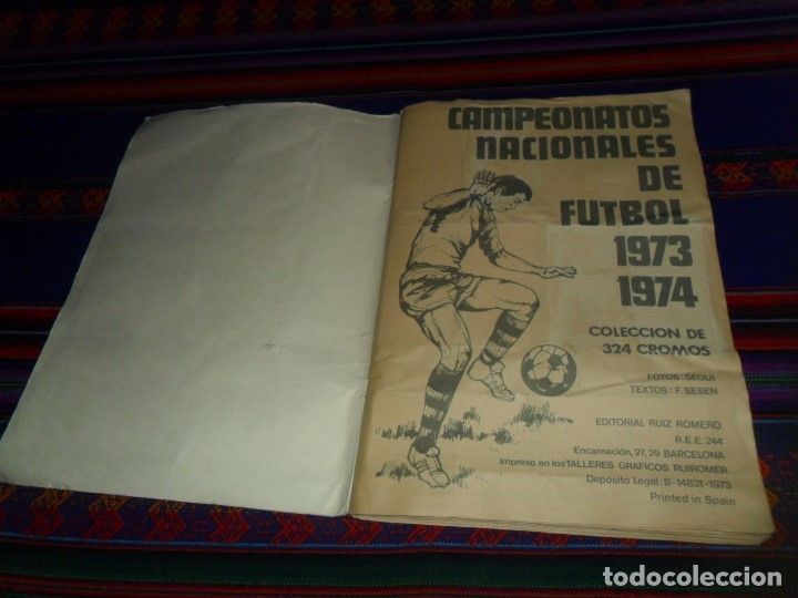 Álbum de fútbol completo: FÚTBOL 1973 1974 COMPLETO 3 DOBLES RUIZ ROMERO. BE. REGALO FÚTBOL 1968 1969 RUIZ ROMERO INCOMPLETO - Foto 21 - 74955575