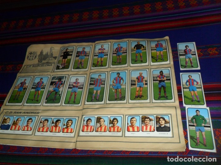 Álbum de fútbol completo: FÚTBOL 1973 1974 COMPLETO 3 DOBLES RUIZ ROMERO. BE. REGALO FÚTBOL 1968 1969 RUIZ ROMERO INCOMPLETO - Foto 26 - 74955575