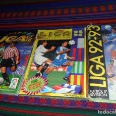 Álbum de fútbol completo: LIGA ESTE 92 93 1992 1993 SERGI, 95 96 1995 1996 Y 97 98 1997 1998 COMPLETO. REGALO 94 95 INCOMPLETO. Lote 132355822