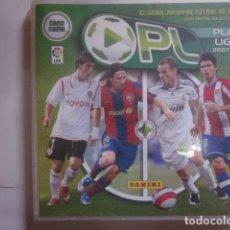 Álbum de fútbol completo: COLECCION COMPLETA PLAY LIGA 2007 2008 07 08 EDITORIAL PANINI CROMOS Y ALBUM NUEVOS. Lote 132400002