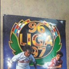 Álbum de fútbol completo: ALBUM FUTBOL LIGA 96 97 1996 1997 ESTE COMPLETO COMPLETISIMO. Lote 132602266