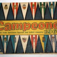 Álbum de fútbol completo: ALBUM CAMPEONES 1960 COMPLETO EDITORIAL BRUGUERA.. Lote 132611350