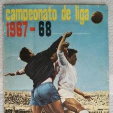 Álbum de fútbol completo: ALBUM DE FUTBOL 1967-68, FHER - COMPLETO, INCLUIDOS LOS 16 ESCUDOS Y LOS 15 CROMOS DOBLES. Lote 132655530
