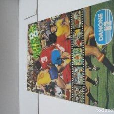 Álbum de fútbol completo: ALBUM COMPLETO FUTBOL ACCION DANONE 82. Lote 132823470