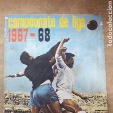 Álbum de fútbol completo: ÁLBUM FÚTBOL 1967 1968 67 68 DISGRA COMPLETO. Lote 132935698