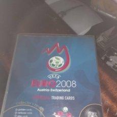 Álbum de fútbol completo: PANINI EURO 2008 TRADING CARDS ( COLECCION COMPLETA ) . Lote 133016794