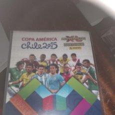 Álbum de fútbol completo: PANINI ADRENALYN COPA AMERICA 2015 ( COLECCION COMPLETA BÁSICA ). Lote 133019846