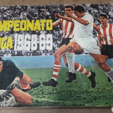 Álbum de fútbol completo: ÁLBUM FÚTBOL 1968 1969 68 69 DISGRA COMPLETO DOBLES. Lote 133155966