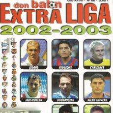 Álbum de fútbol completo: DON BALÓN. - EXTRA LIGA 2002-2003 - EXTRALIGA / LEAGUEGUIDE. #. Lote 133161158