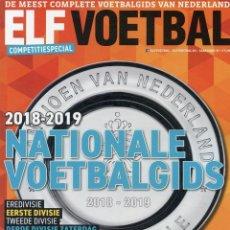 Álbum de fútbol completo: ELFVOETBAL. - NATIONALE VOETBALGIDS 2018-2019 - EXTRALIGA / LEAGUEGUIDE.#. Lote 133163002