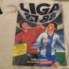 Álbum de fútbol completo: ALBUM 87/88 ESTE COMPLETO CON COSTA, RUBEN, JOSE LUIS, ANTONIO, VALDENEBRO. LEER. Lote 133166918