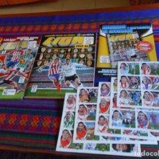 Álbum de fútbol completo: ESTE LIGA 2012 2013 12 13 COMPLETO + MERCADO DE INVIERNO + AMPLIACIÓN, LIGA 2016 2017 16 17 COMPLETO. Lote 133542946