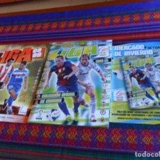 Álbum de fútbol completo: ESTE LIGA 2013 2014 13 14 COMPLETO + MERCADO INVIERNO + ACTUALIZACIÓN, LIGA 2008 2009 08 09 COMPLETO. Lote 133543526