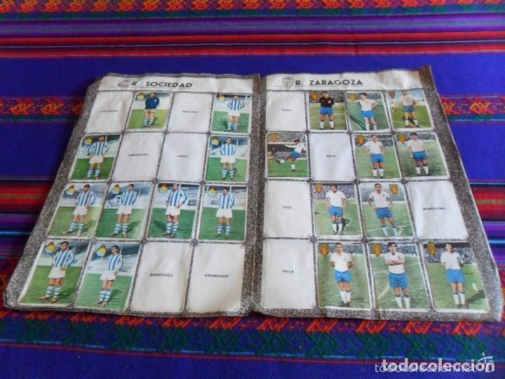 Álbum de fútbol completo: FHER DISGRA CAMPEONATO DE LIGA 1966 1967 66 67 COMPLETO. REGALO 1967 1968 67 68 INCOMPLETO. - Foto 18 - 120210527