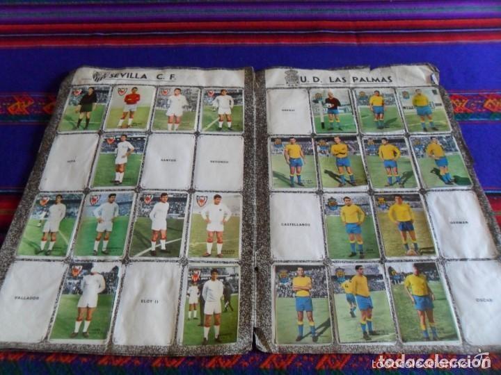 Álbum de fútbol completo: FHER DISGRA CAMPEONATO DE LIGA 1966 1967 66 67 COMPLETO. REGALO 1967 1968 67 68 INCOMPLETO. - Foto 19 - 120210527
