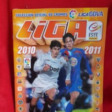 Álbum de fútbol completo: LIGA, TEMPORADA 2010-2011. Lote 134393798