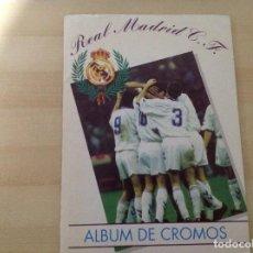 Álbum de fútbol completo: ALBUM COMPLETO DEL REAL MADRID, LIGA 94-95 DE MAGIC BOX 1994,NO ESTE,NI PANINI.. Lote 134882222