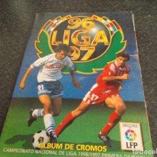 Album de football complet: INTERESANTISIMO ALBUM 96/97 ESTE COMPLETO CON MAS DE 110 DOBLES Y 27 FICHAJES . Lote 134927598