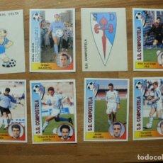 Álbum de fútbol completo: 94-95 PANINI CROMO NUEVO NUNCA PEGADO EN PERFECTO ESTADO Nº 109 ESCUDO COMPOSTELA. Lote 137347856