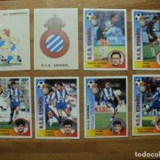 Álbum de fútbol completo: 94-95 PANINI CROMO NUEVO NUNCA PEGADO EN PERFECTO ESTADO Nº 127 ESCUDO ESPANYOL-ESPAÑOL. Lote 137347902