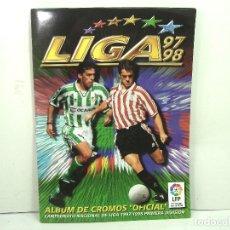Álbum de fútbol completo: ALBUM CROMOS FUTBOL PANINI ESTE 1997 1998 -PLANCHA Y COMPLETO -SIN FICHAJES-320 CROMOS-97 98. Lote 135082782