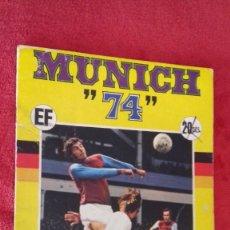 Álbum de fútbol completo: ALBUM MUNICH 74 MUNDIAL FUTBOL 1974 COMPLETO. Lote 135533994