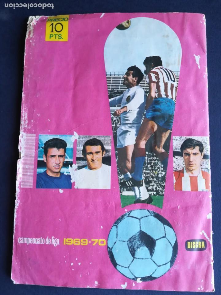 Álbum de fútbol completo: ÁLBUM DE CROMOS DISGRA CAMPEONATO DE LIGA 1969 1970 - COMPLETO - LEER DESCRIPCIÓN - Foto 25 - 135697771