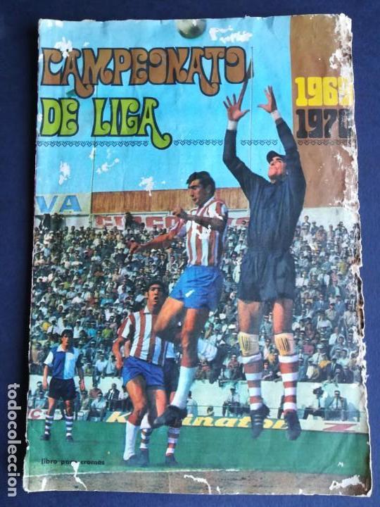 ÁLBUM DE CROMOS DISGRA CAMPEONATO DE LIGA 1969 1970 - COMPLETO - LEER DESCRIPCIÓN (Coleccionismo Deportivo - Álbumes y Cromos de Deportes - Álbumes de Fútbol Completos)
