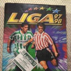 Álbum de fútbol completo: ÁLBUM FUTBOL LIGA COMPLETO 1997 1998 97 98 EDICIONES ESTE COLECCIONES 559 CROMOS PEGADOS SIN PISAR. Lote 136302462