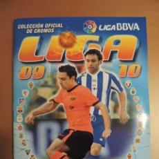 Álbum de fútbol completo: ALBUM LIGA ESTE 2009 2010 - TODO EDITADO - 565 CROMOS - VER FOTOS - LEER DENTRO. Lote 136302970