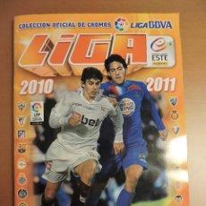 Álbum de fútbol completo: ALBUM LIGA ESTE 2010 2011 - TODO EDITADO - 571 CROMOS - VER FOTOS - LEER DENTRO. Lote 136304606