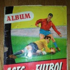 Álbum de fútbol completo: ALBUM ASES DEL FUTBOL. COLECCION DE 192 FOTOGRAFIAS ESMALTADAS. LIGA 1953 -1954. BRUGUERA.. Lote 136784970