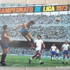 Álbum de fútbol completo: EXCELENTE ALBUM FHER 1973/74 CON TODO:POSTER CENTRAL COMPLETO,LOS 2 ORTUÑOS Y LOS FICHAJES. Lote 136828370